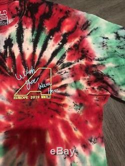 Travis Scott Astroworld Wish You Were Here Tour Merch Tie Dye T-Shirt Small Rare
