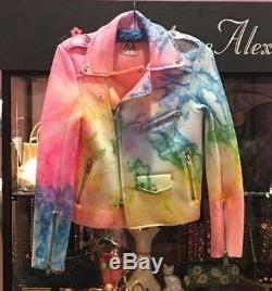 UNIF I Dye Tie Dye Moto Jacket S
