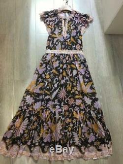 Ulla Johnson Celestia Dress Size 2 4 6 Midnight