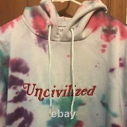 Uncivilized Tie Dye Hoodie