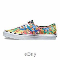 VANS x NINTENDO Authentic Mens Shoes NEW Super Mario Bros TIE DYE 8Bit FREE SHIP