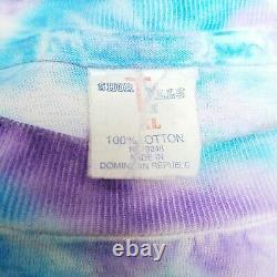 VINTAGE Pink Floyd Division Bell Tour 1994 T-shirt Men XL Tie Dye Single Stitch