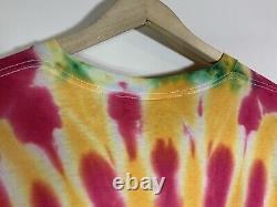 VTG 1992 Grateful Dead Lithuania Basketball Tie Dye T-Shirt Olympics XL