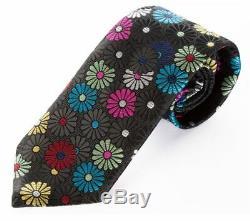 Van Buck Of England, Stunning Handmade Multicolor'paper Daisy' Tie, Freepost