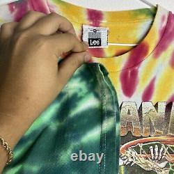 Vintage 1996/1992 Grateful Dead Lithuania Basketball Tie Dye T Shirt (XL) 90s