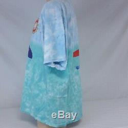Vintage 1999 Grateful Dead T Shirt Tie Dye Surf Bear Tee Tour Concert 90s XL