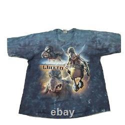 Vintage 1999 Liquid Blue Star Wars Episode 1 Watto Tie Dye XL Shirt NWOT