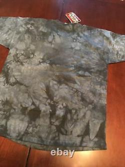 Vintage 90s Deadstock Liquid Blue Star Wars Episode 1 Darth Maul Tie Dye Shirt