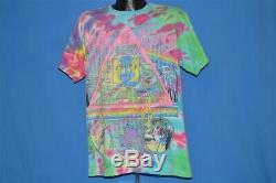 Vintage 90s PINK FLOYD THE DIVISION BELL U. S TOUR 1994 TIE DYE ROCK t-shirt XL