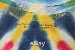 Vintage Bob Marley Mens Sz 2XL Tie Dye Kaya Rap Reggae Single Stitch Tee TShirt