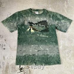 Vintage Disney Atlantis Movie Shirt (size M/L) Tie Die Made in USA Movie Promo