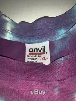 Vintage Grateful Dead Reduce Reuse Recycle Shirt XL 90s Tie Dye