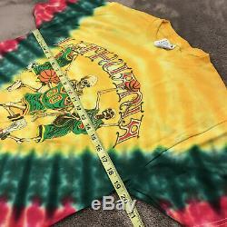 Vintage (Grateful Dead) Team Lithuania Basketball Tie Dye RARE! 2000 (NOS)
