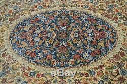 Vintage Hand Tied Approximate 10 x 14 Multicolor Room Size Rug