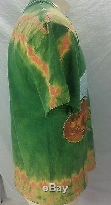 Vintage L Large Rasta Michelangelo Sistine Chapel 94 Mikio T-Shirt Tie Dyed Tee