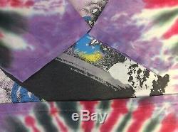 Vintage Led Zeppelin Tie Dye T Shirt Winterland Size L Single Stitched (112)