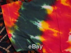 Vintage Liquid Blue Greg Speirs Grateful Dead LITHUANIA 1992 Tie Dye Shirt XL