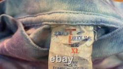 Vintage Pink Floyd Tie Dye 1994 Division Bell Tour T-Shirt Sz XL RARE