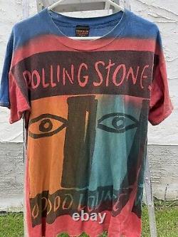 Vintage Rolling Stones 1994 VooDoo Lounge Tie Dye T Shirt Mens XL