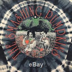 Vintage Smashing Pumpkins 90s Punk Rock Tie Die T Shirt XL Beastie Boys