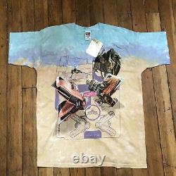 Vintage Star Wars Episode 1 Sebulba Pod Racer Tie-Dye T-Shirt NWT Size XL