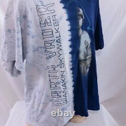 Vintage Star Wars T Shirt Tie Dye Darth Vader Tee Movie 90s Anakin Skywalker XL