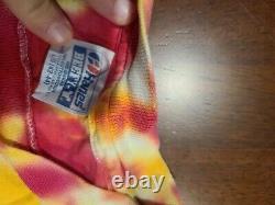Vintage Tie Dye Grateful Dead Lithuania Olympic Shirt 1992 Large
