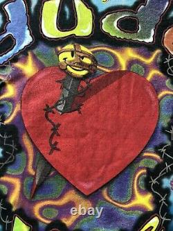 Vintage WWF Dude Love Tie Dye Shirt