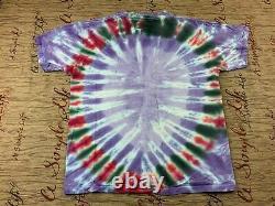 Vintage Winterland Led Zeppelin Tie Dye Shirt Size Large