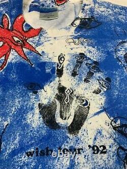 Vintage punk tour the cure wish tour tie dye mosquitohead nirvana ramones joy ra