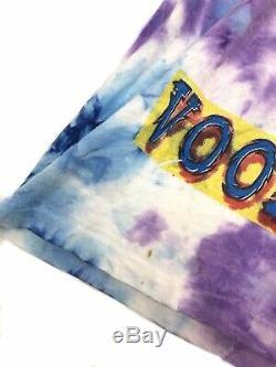 Vtg ROLLING STONES Concert T Shirt 1994 Voodoo Lounge Tour Tie Dye Sz. XL