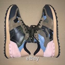 Womens Valentino Garavani Rock Runner Camouflage Sneaker
