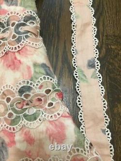 ZIMMERMANN Kirra Tie Shoulder Mini Dress US Size 4-6 Orig. $889 NWT