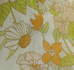 Zimmermann Super Eight Silk Chiffon Floral Print Tie Neck Dress Sz 2 M US 6-8