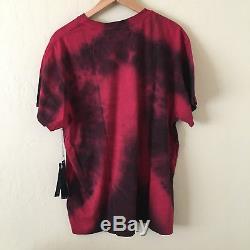 15% De Rabais Code Picksoon Amiri Tie Dye Amoureux Du Coeur T-shirt Rouge Tee S $ 325 Nouveau