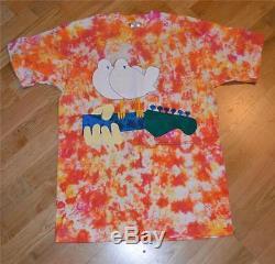 1994 Woodstock Vtg Chemise Tie-dye De Concert (l) Blind Melon, Bob Dylan, Metallica