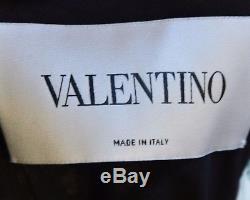 2 900,00 € Valentino Nœud Papillon Noir 2015 Primavera Floral Dress It 40 / Us 4