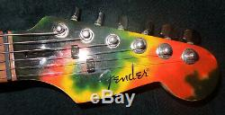 2004/2005 Limited Edition Fender Stratocaster Tie Dye