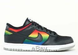 2006 Nike Sb Dunk Low Arc-en-tie Dye Foncé Obsidian Vtg Taille 8.5 312490 441