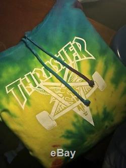 2010 Sweat À Capuche Thrasher Tie Dye Skate Tyler Le Créateur Very Rare Golf Wang Ofwgkta