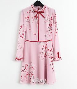 2018 Ted Baker 315 $ Heydii - Robe Nouée En Peach Blossom, Rose Pâle