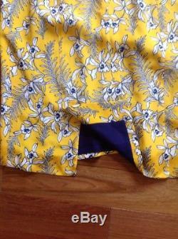 2290 $ Nwt Robe Fourreau À Imprimé Cravate En Soie Oscar De La Renta 10