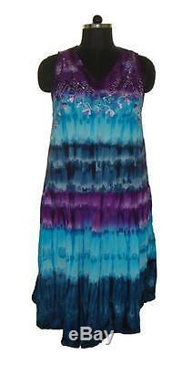 ++ 25 Pièces Lot Couleur Multicolore Tie Dye Tenue Décontractée En Viscose Rayonne Rayonne Vente En Gros Beaucoup