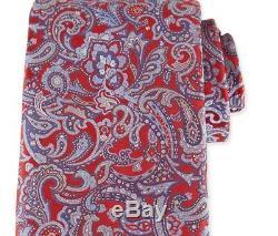 275 $ Cravate Stefano Ricci 100% Soie, Fabriquée En Italie, Rouge Multicolore