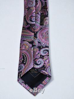 $ 280 Magnifique Brioni Paisley Cravate En Soie Extra Fine Italienne L 62 X W 3.5