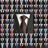 300 Couleur Lot Gros Hommes Classique Cravate En Soie Tissé Jacquard Cou Cravates