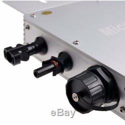 300w 600w 1200w Imperméable Grille Tie Inverter Dc22-50v / Ac110 / 220v Onde Sinusoïdale Pure