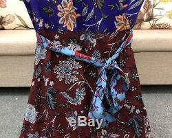 $ 498 Bracelet Diane Von Furstenberg - Robe Portefeuille Avec Manches À Volants