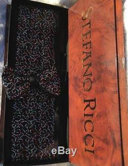 4999 $ Tno Stefano Ricci Cummerbund En Soie Pour Homme Et Cravate Sertie De Cristaux XL