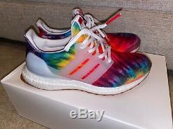 Adidas Kicks Woodstock 50 Ultraboost Tie Dye Sneakers Chaussures Nib 7 8